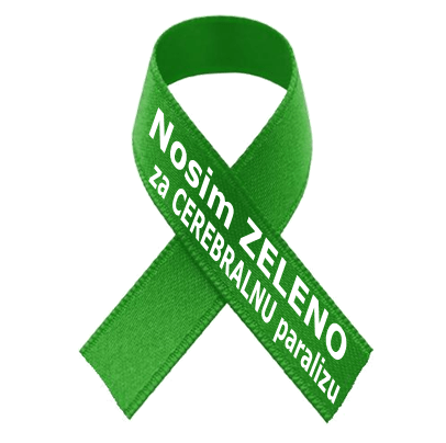 Nacionalni dan osoba s cerebralnom paralizom - zelena vrpca